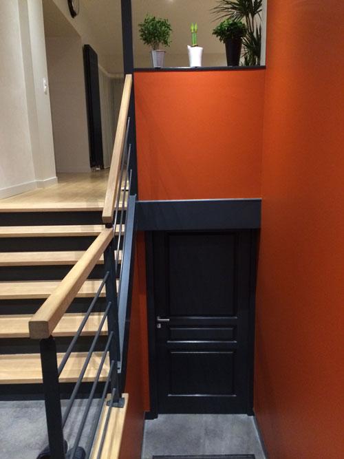 vinyle sols peinture intérieure et escalier