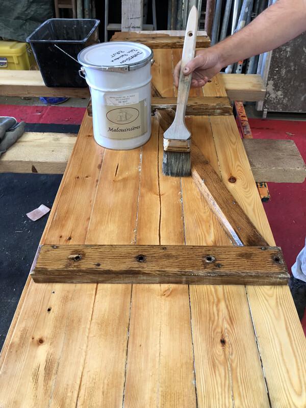 peinture extérieure boiseries granville